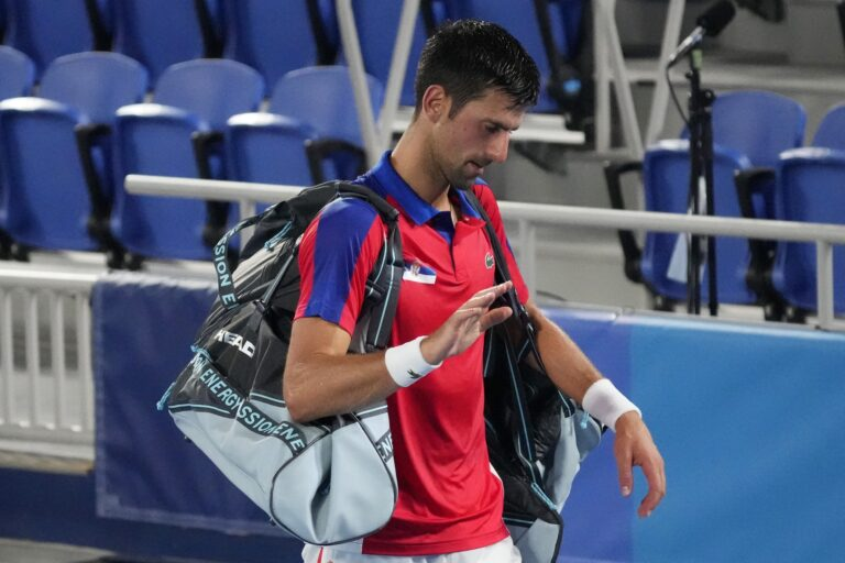 Tokyo 2020: Djokovic Loses Two Semifinals in Four Hours, Zverev and Khachanov Battle for Gold