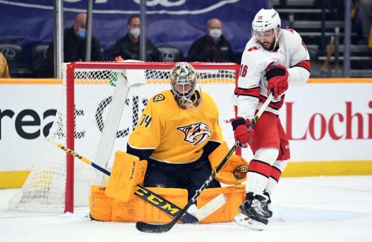 Predators Sign Saros, Blue Jackets Agree Entry-Level Contract With Bjorgvik-Holm