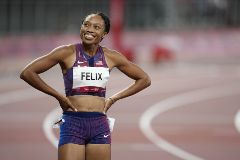 Felix Writes Olympic History, USA Defeats Serbia to Reach Two Finals