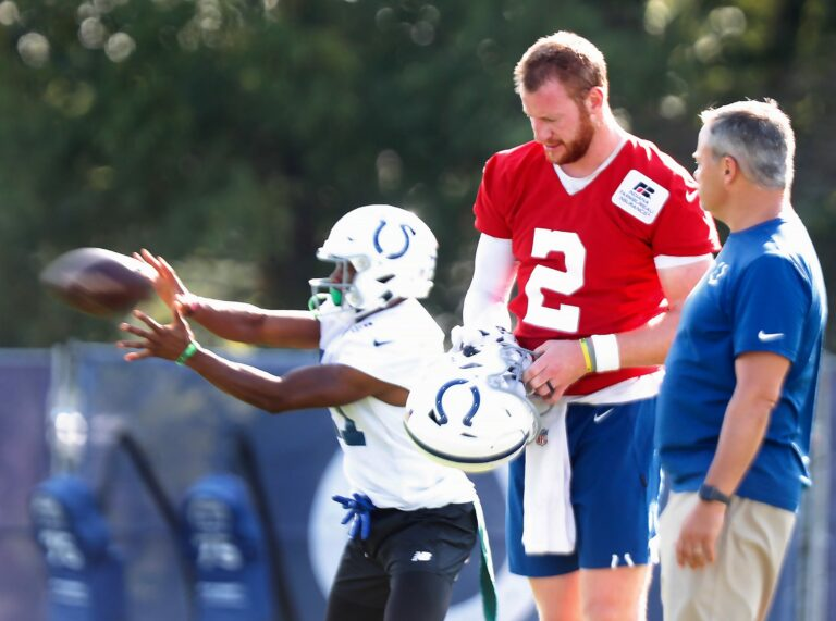 Indianapolis Colts Put Carson Wentz on COVID-19/Reserve List, Underdogs Against Seahawks On Sunday