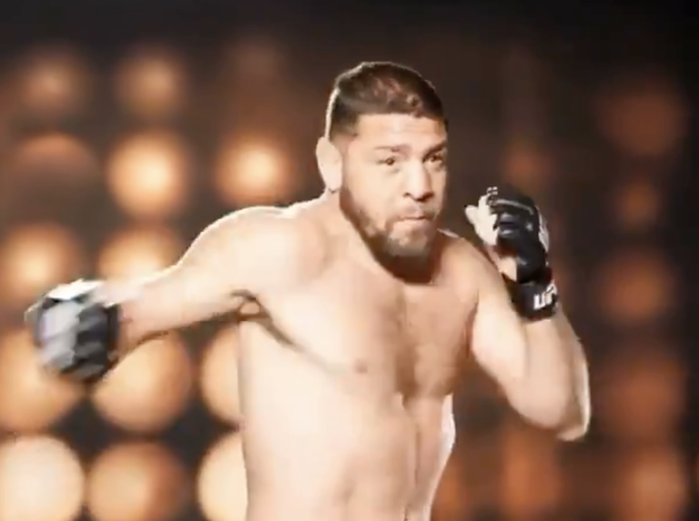 """""""Doesn't Look Great!"""" UFC Fans React to Nick Diaz's 'Slow' Shadow Boxing Video"""