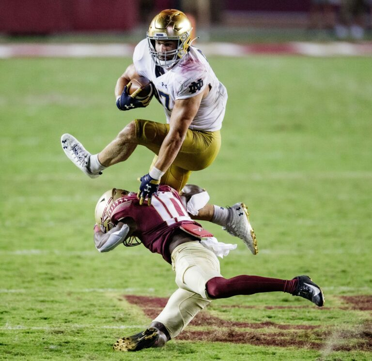 College Football: Toledo vs Notre Dame Predictions, Odds (September 11)