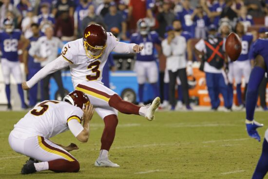 Heinicke Could Lead WFT to the Playoffs, Giants in Deep Trouble