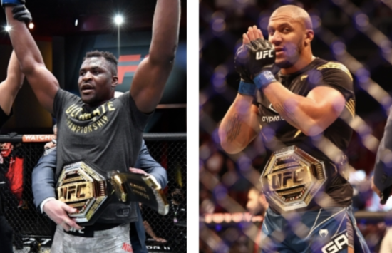 UFC: Francis Ngannou vs. Ciryl Gane Targeted for UFC 270