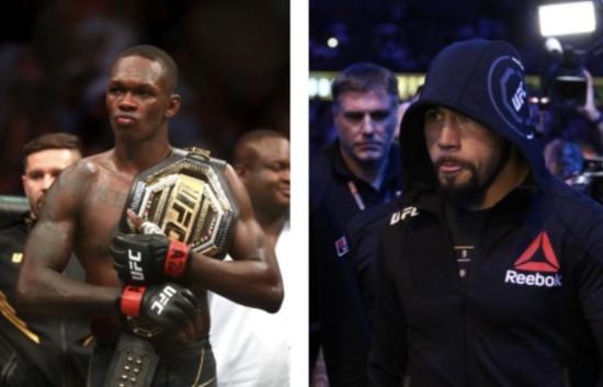UFC: Robert Whittaker vs. Israel Adesanya 2 Targeted for UFC 270