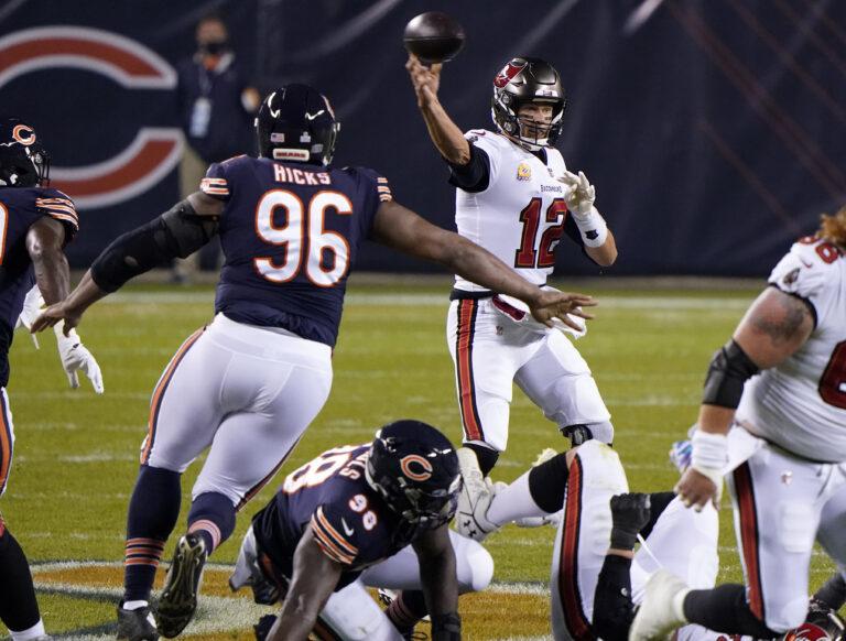 NFL Picks: Bears vs Buccaneers Vegas Odds, Week 7 Predictions