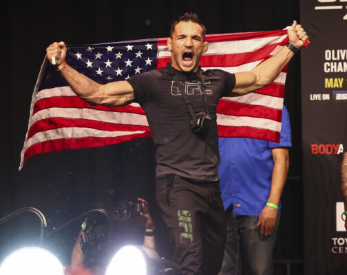 UFC: Michael Chandler Agrees with Oddsmakers' UFC 269 Main Event Winner