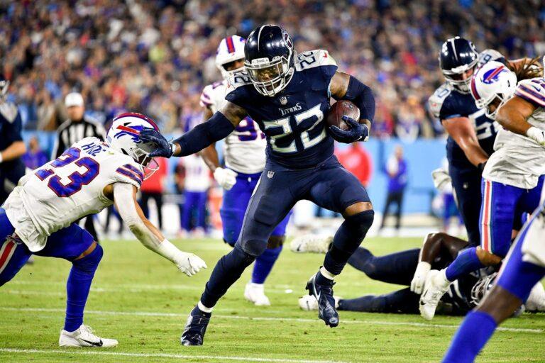Derrick Henry Smashes Buffalo Bills, Tennessee Wins on Monday Night Football, 34-31