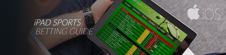 Sports betting on an iPad