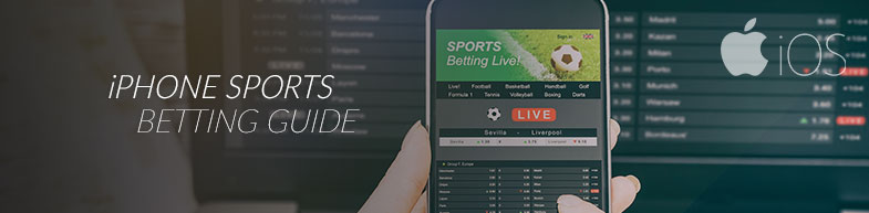 Sports betting on an iPhone