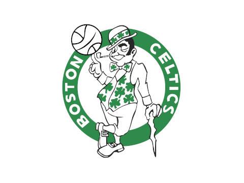 Boston Celtics' official team logo.