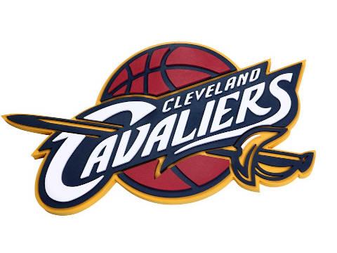 Cleveland Cavaliers elegant NBA logo.