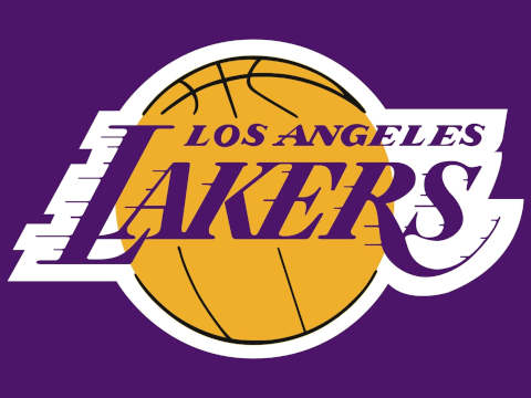 Los Angeles Lakers' official branded logo.