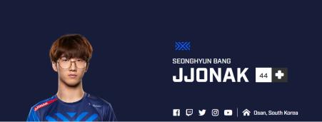 "Sung-hyeon ""JJONAK"" Bang – New York Excelsior"