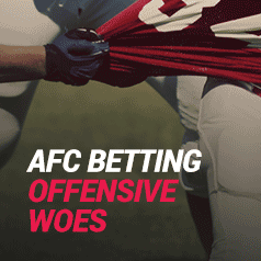 NFL Betting – Around the AFC: Colts, Dolphins, Chargers Have Offensive Woes