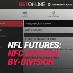 NFL Futures Bets Division-by-Division in the NFC