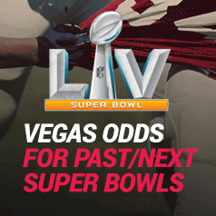 What Are The Vegas Odds On The Super Bowl?