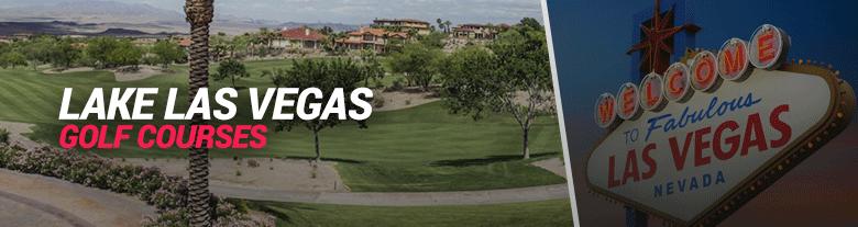image of lake las vegas golf courses