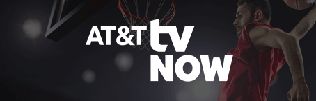 image of at&t tv now nba free trial logo