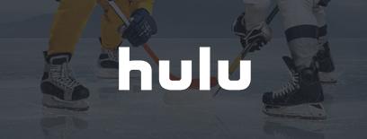 image of hulu tv nhl free trial logo