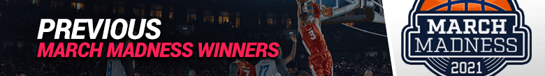 image of previous march madness winners
