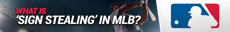 image for what is sign stealing in mlb