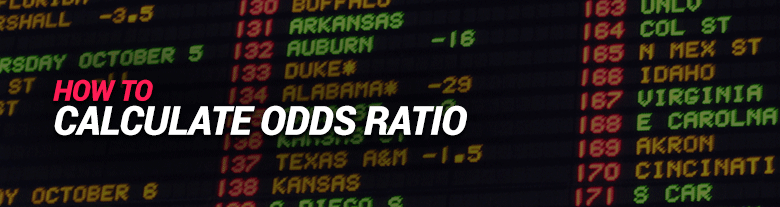 image for how to calculate odds ratio