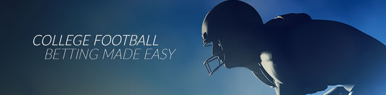 College football betting made easy
