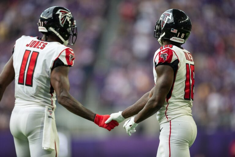 Julio Jones Moving From Atlanta Falcons to Tennessee Titans