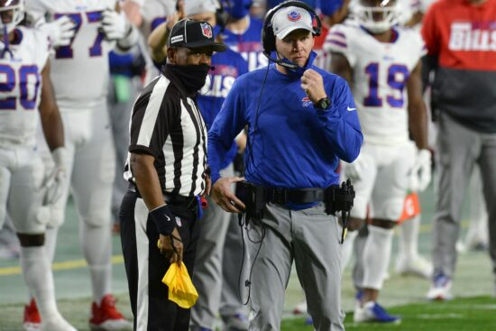NFL Coach of the Year Award Odds: Staley First Favorite, McVay After Second Trophy