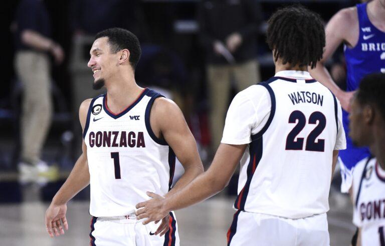 Pepperdine vs #1 Gonzaga: NCAAB Odds, Picks, Schedules, Lines (Jan 14)