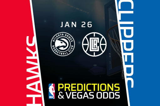 Free NBA Pick: Clippers vs Hawks Prediction & Vegas Odds (Jan 26)