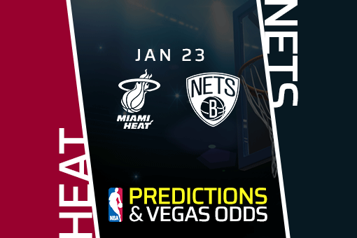 Free NBA Pick: Heat vs Nets Prediction & Vegas Odds (Jan 23)