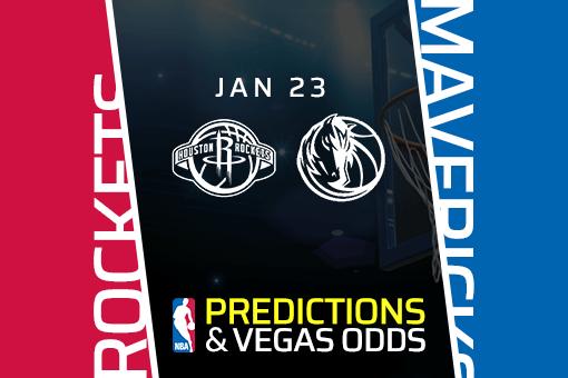 Free NBA Pick: Rockets vs Mavericks Prediction & Vegas Odds (Jan 23)