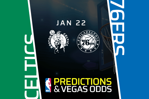 Free NBA Pick: Celtics vs 76ers Prediction & Vegas Odds (Jan 22)