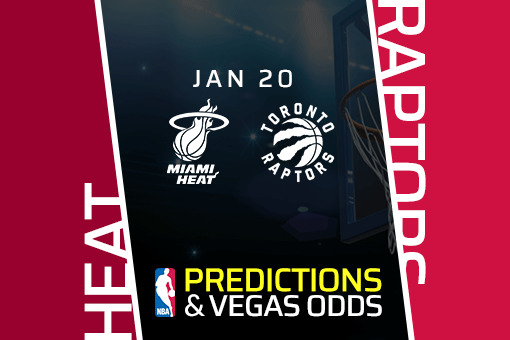 NBA: Heat vs Raptors Prediction & Odds (Jan 20)