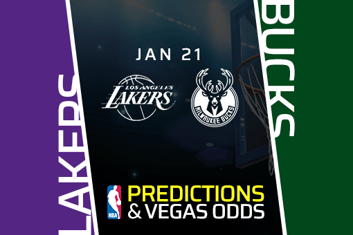 Free NBA Pick: Lakers vs Bucks Prediction & Vegas Odds (Jan 21)