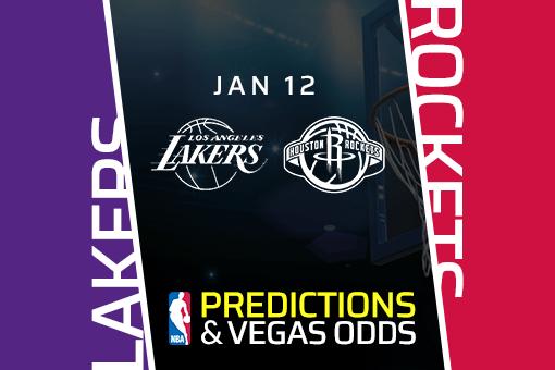 NBA: Lakers at Rockets Prediction & Odds (Jan 12)