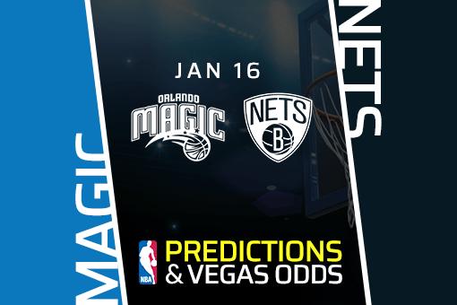 NBA: Magic at Nets Prediction & Odds (Jan 16)