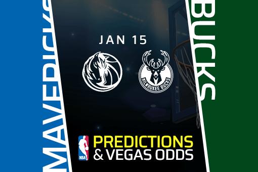 NBA: Mavericks at Bucks Game Prediction & Odds (Jan 15)