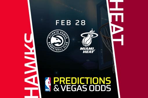 Free NBA Pick: Hawks vs Heat Prediction & Vegas Odds (Feb 28)