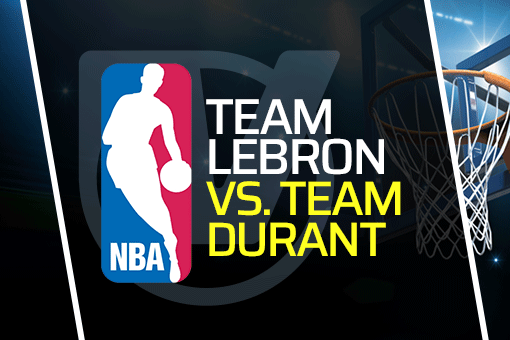 NBA All-Star Game: Team LeBron vs Team Durant Vegas Odds (Mar 7)
