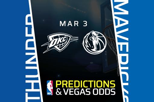 Free NBA Pick: Thunder vs Mavericks Prediction & Vegas Odds (Mar 3)
