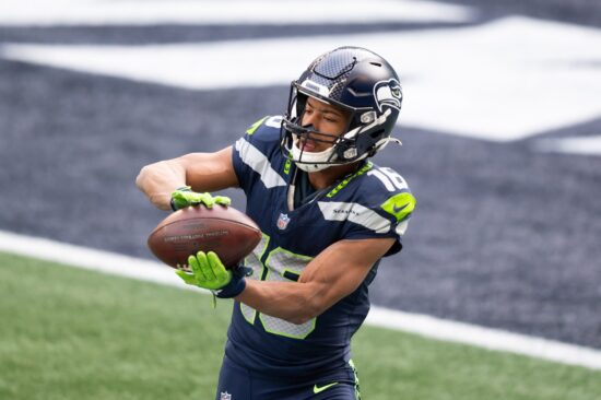 NFL News: Tyler Lockett Staying in Seattle, Russell Wilson Wants Antonio Brown