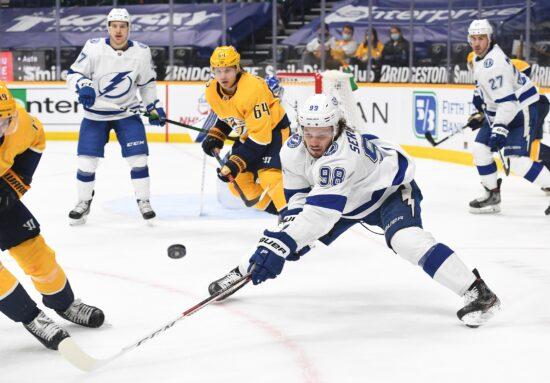 Free NHL Pick: Lightning at Predators Prediction & Lines (Apr 13)