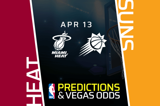 NBA Picks: Heat vs Suns Prediction, Vegas Odds (Apr 13)