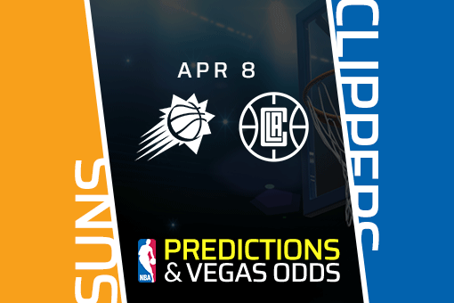 Free NBA Pick: Suns vs Clippers Prediction & Vegas Odds (Apr 8)