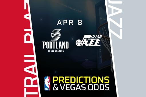 NBA Picks: Trail Blazers vs Jazz Prediction & Vegas Odds (Apr 8)
