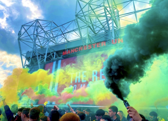 Soccer: Shocking Scenes as Manchester United Fans Storm Old Trafford in Protest Against US Ownership