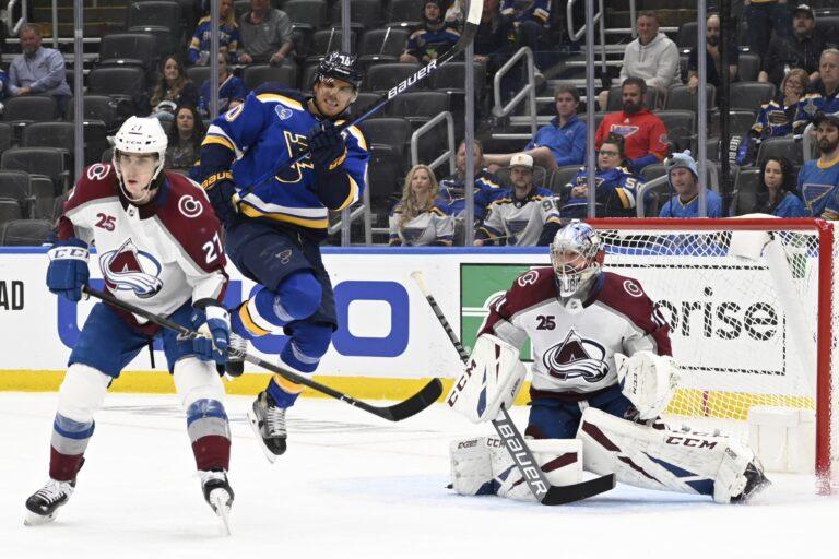 NHL Picks: Avalanche vs Blues Prediction, Lines (May 23)